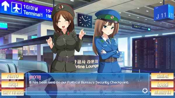 Stay! Stay! Democratic People's Republic of Korea!