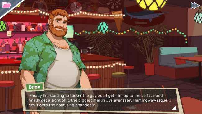 Dream Daddy Hookup Sim Game Screenshots