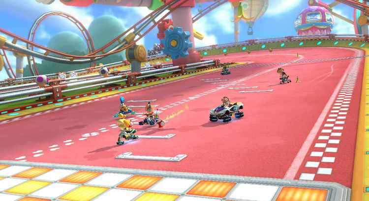 Ario Kart 8 Deluxe Infographic Review Shell On Earth Game