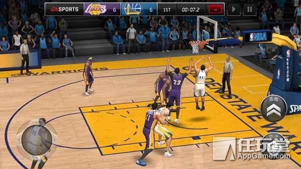 NBA live移动版