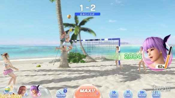 PC版《死或生:沙滩排球》新截图公开 营养跟不上了