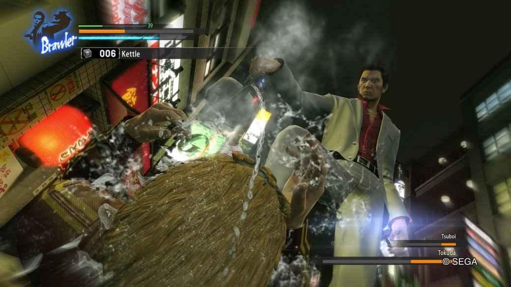 Рецензия на Yakuza: Kiwami