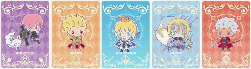 「Fate/Grand Order」がサンリオパワーでかわいくなって商品展開!