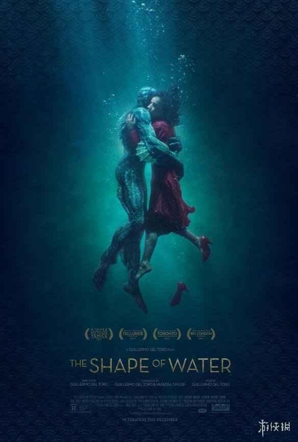 《水形物语》公布最新的海报 人兽水中相拥动感无比