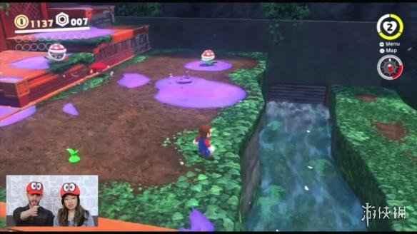 Switch《超級馬裏奧:奧德賽》合作模式玩法視頻演示