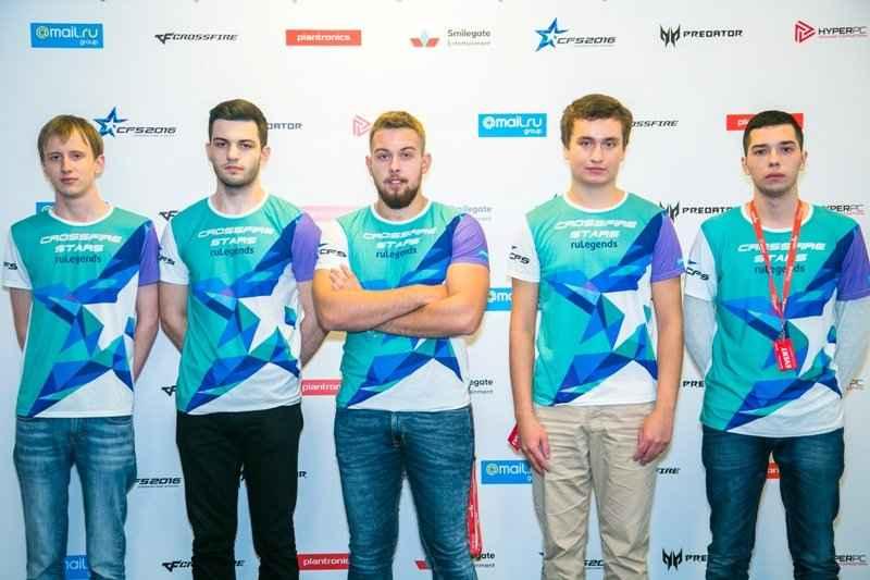 RuLegends представит Россию на чемпионате мира по CrossFire