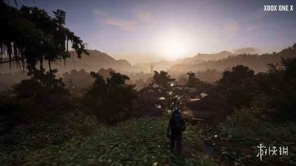 《幽灵行动:荒野》Xbox One X演示 画面提升很大!