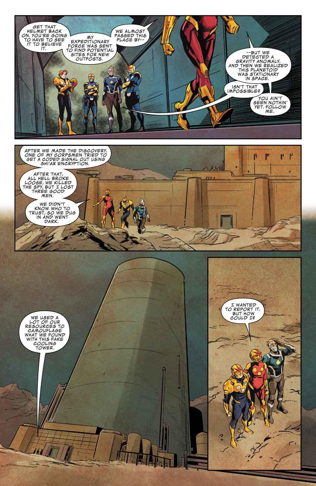 Что произошло с одним из Камней Бесконечности в новом номере «Стражей Галактики»?