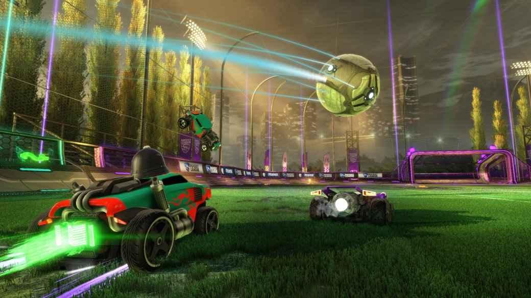 Гифка дня: как забить гол в Rocket League, не делая абсолютно ничего!