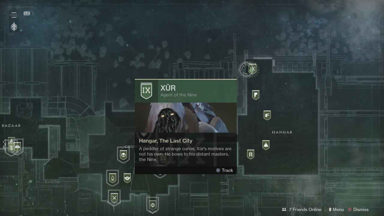 Destiny 2 Xur Location Guide: Where Is Xur, What Is He Selling? (December 15-18)