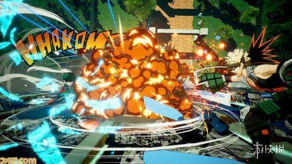 《我的英雄學院》最新遊戲截圖 戰鬥場面華麗又勁爆