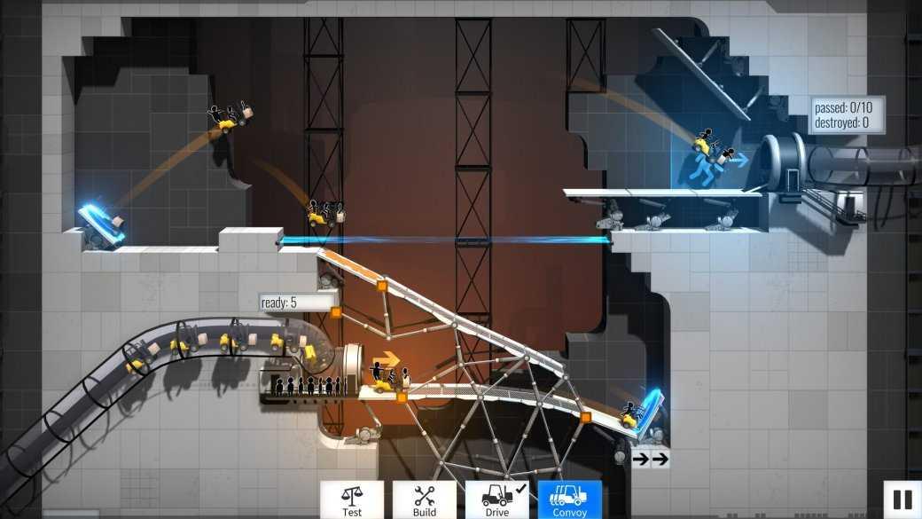Суть. Забудьте уже про Portal 3 и поиграйте в Bridge Constructor Portal