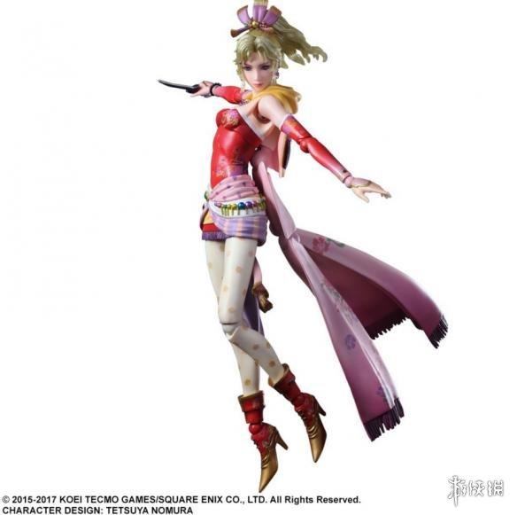 《最终幻想6》蒂娜官方手办新照 这脸是韩国整的?