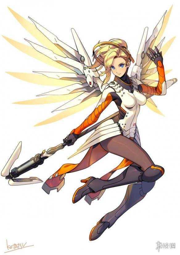 《守望先锋》精彩同人图 黑丝天使兔女郎DVA爱你哦