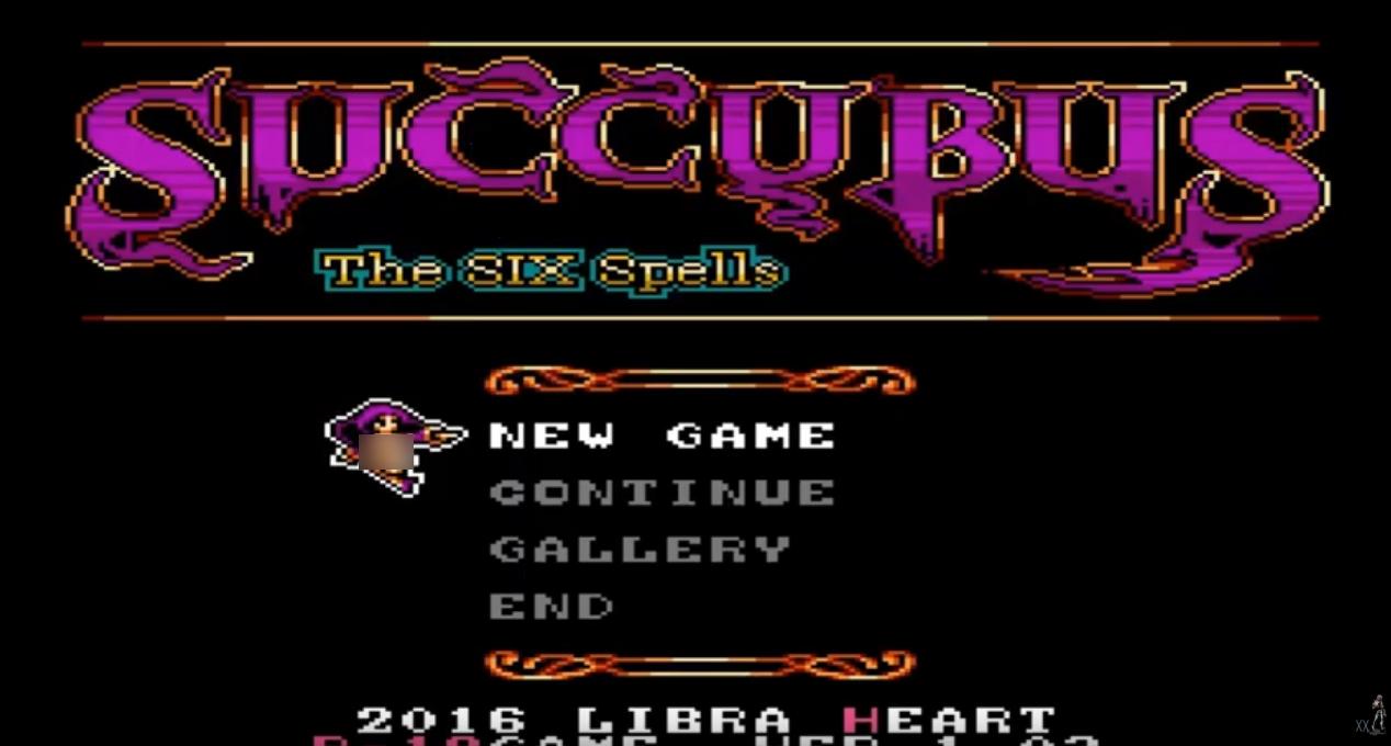 SUCCUBUS-The SIX Spells