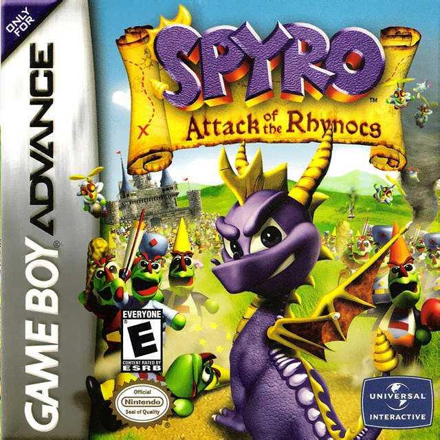 Spyro: Attack of the Rhynocs