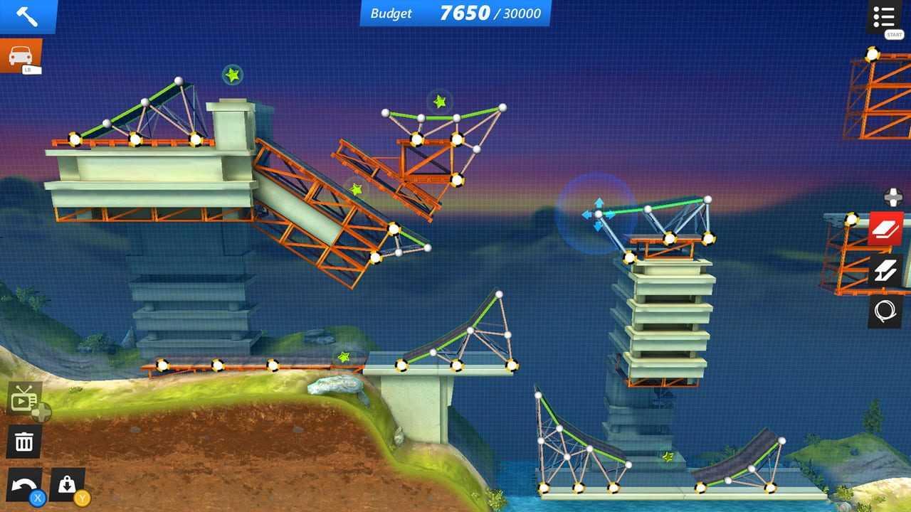 Bridge Constructor: Stunts