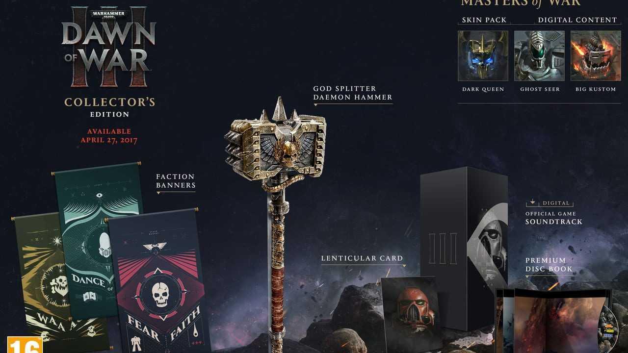 Warhammer 40,000: Dawn of War III - Collector's Edition