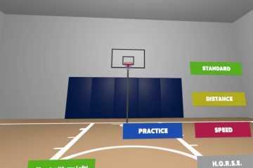 Basketball Court VR