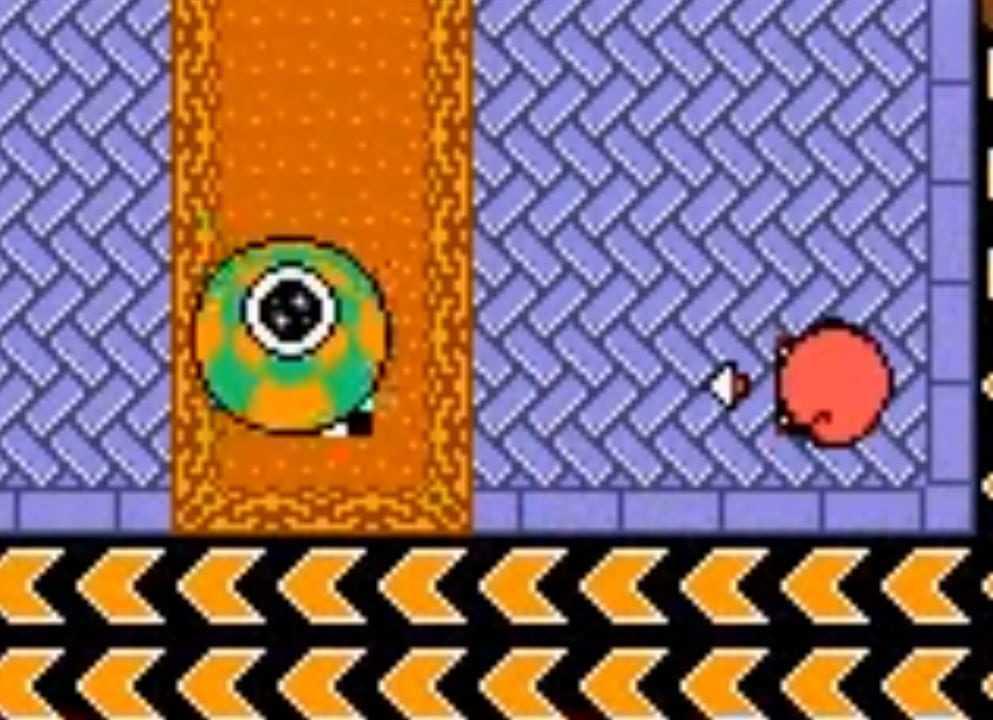 Kirby Tilt n' Tumble