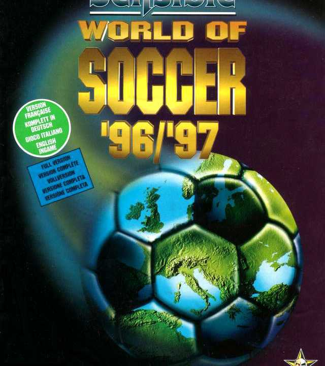 Sensible World Of Soccer '96/'97