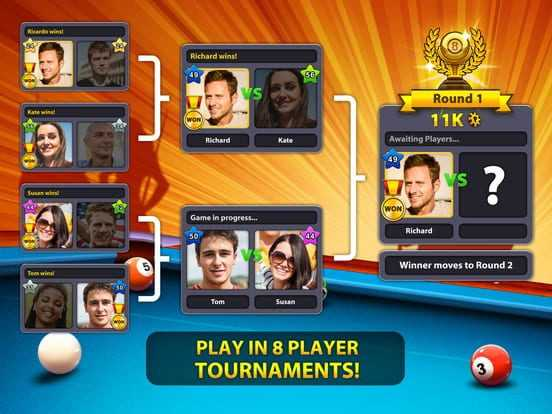 8 Ball Pool Reviews, News, Descriptions, Walkthrough and