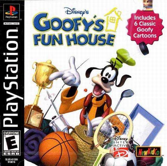 disney s goofy s fun house ps1