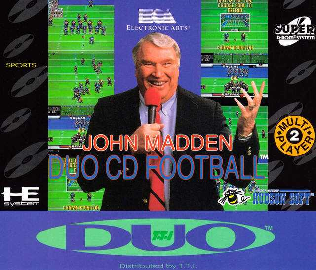 John Madden Duo CD Football