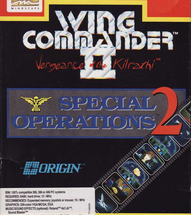 Wing Commander II: Vengeance of the Kilrathi: Special Operations 2