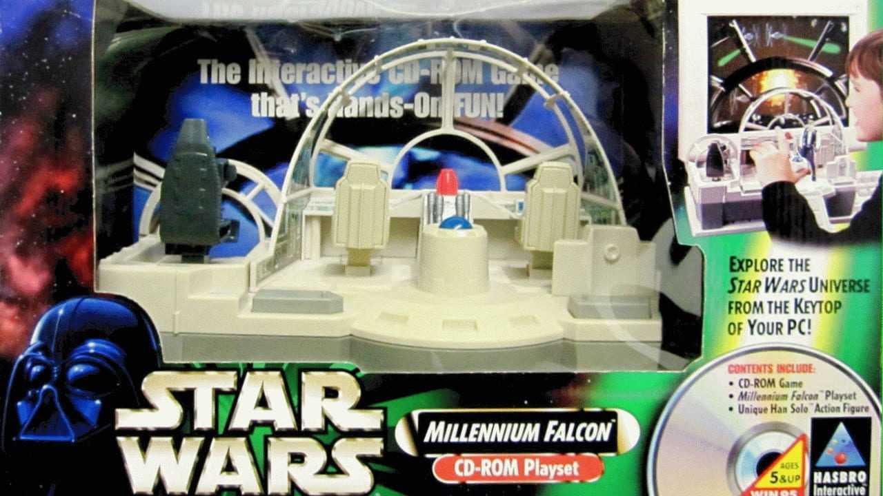 Star Wars: Millennium Falcon CD-ROM Playset