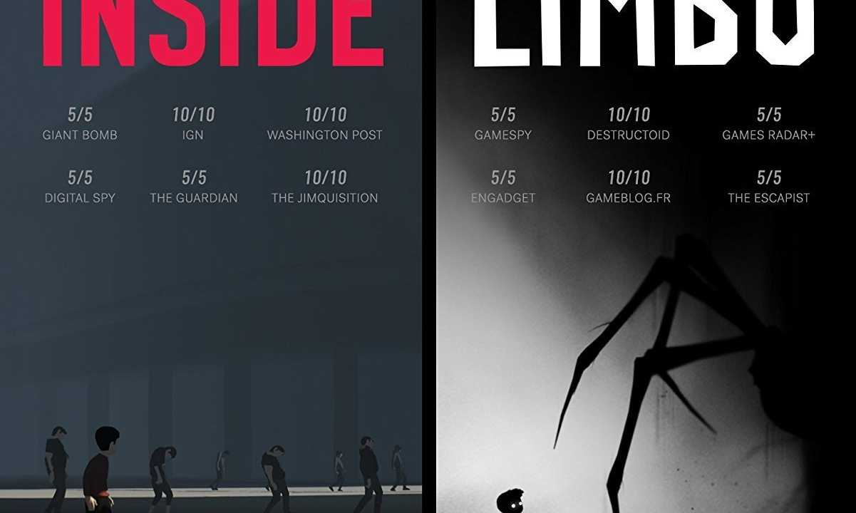 INSIDE + LIMBO Double Pack Reviews, News, Descriptions
