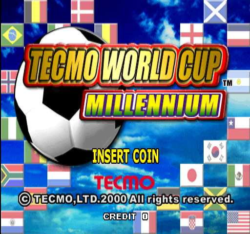 Tecmo World Cup Millennium