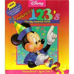 Mickey's 123's The Big Surprise Party