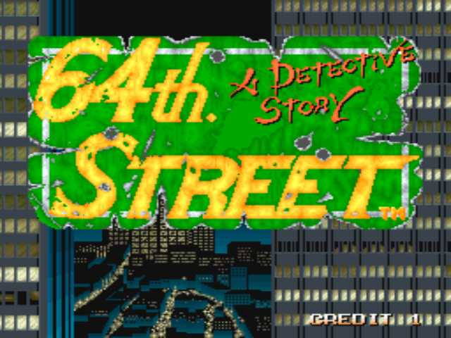 64th Street - A Detective Story