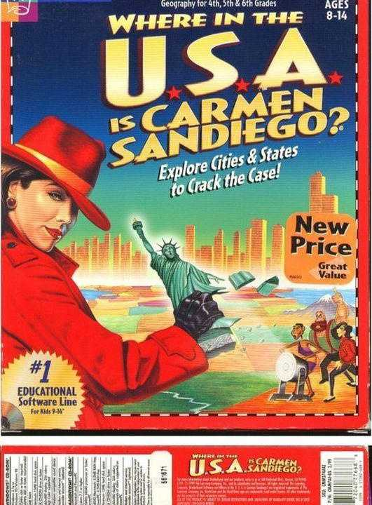 Where in the U.S.A. is Carmen Sandiego? (Deluxe Edition)