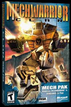 MechWarrior 4: Inner Sphere 'Mech Pak