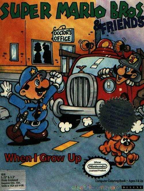 Electric Crayon 3.1: Super Mario Bros & Friends: When I Grow Up