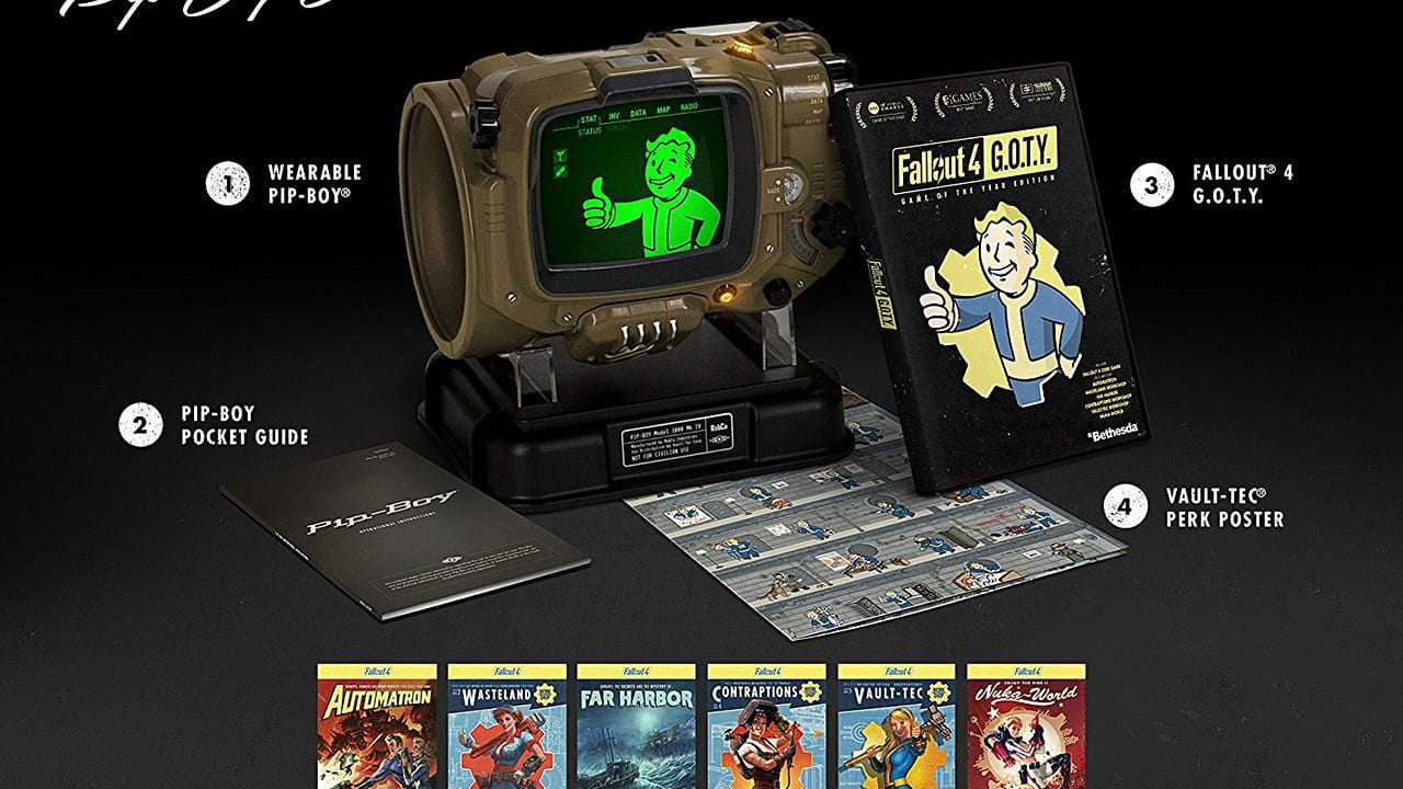 Fallout 4: Game of The Year Pip-Boy Edition