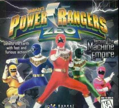 Power Rangers Zeo Versus The Machine Empire