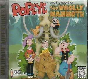 Popeye and the Quest for the Woolly Mammoth
