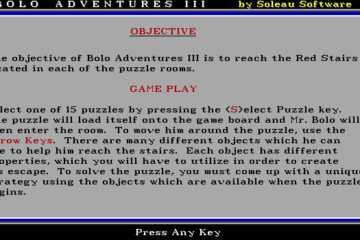 Bolo Adventures III
