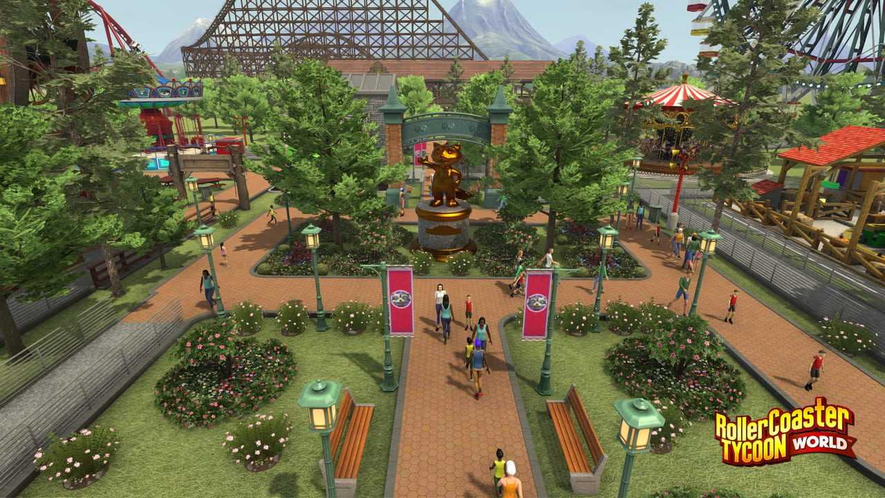 RollerCoaster Tycoon World Reviews, News, Descriptions