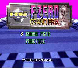 BS F-Zero 2 Grand Prix
