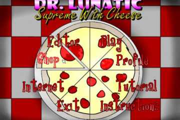 Dr. Lunatic Supreme with Cheese