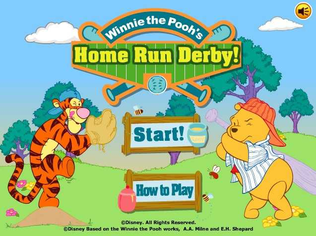 Winnie the Pooh's Home Run Derby!