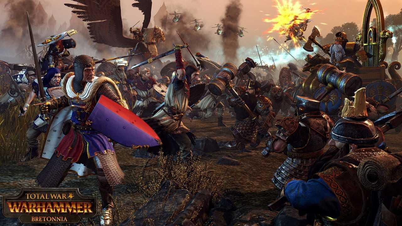 Total War: Warhammer - Bretonnia