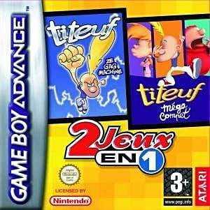 2 jeux en 1: Titeuf: Ze Gag Machine + Titeuf: Méga compet'