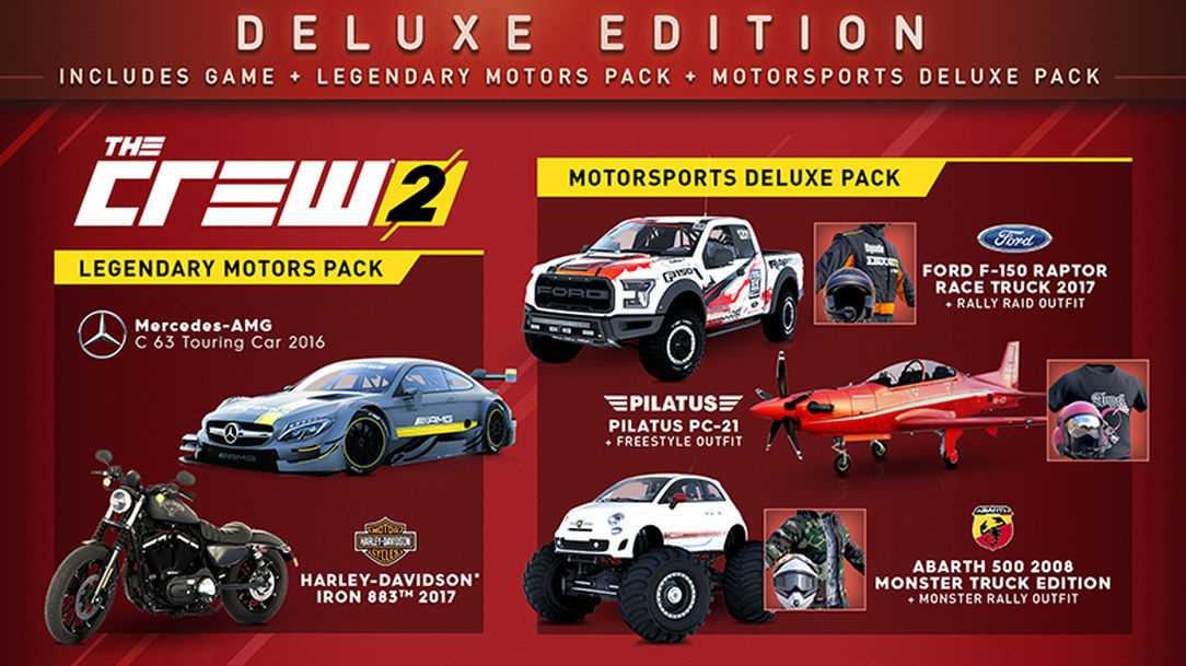 The Crew 2: Deluxe Edition