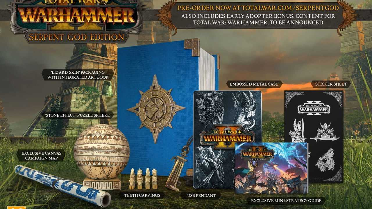 Total War: Warhammer II - Serpent God Edition