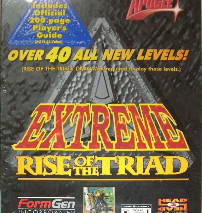 Extreme Rise of the Triad
